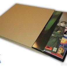 Discos de vinilo: 10 CAJAS DE CARTON EMBALAJE Y ENVIO DISCOS DE VINILO PARA 1 A 3 LP Y MAXIS. Lote 183924855