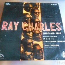 Vinyl-Schallplatten - RAY CHARLES, EP, MARCHATE, JACK (HIT THE ROAD, JACK) + 3, AÑO 1962 - 165580698