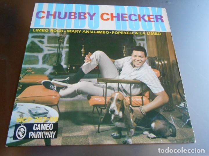 CHUBBY CHECKER, EP, LIMBO ROCK + 3, AÑO 1963 (Música - Discos de Vinilo - EPs - Pop - Rock Extranjero de los 50 y 60)