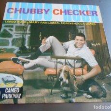 Discos de vinilo: CHUBBY CHECKER, EP, LIMBO ROCK + 3, AÑO 1963. Lote 165581158