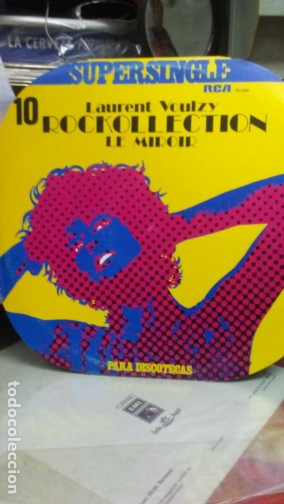 ROCKOLECTION -LAURENT VAULZY (Música - Discos de Vinilo - Maxi Singles - Pop - Rock Extranjero de los 70)