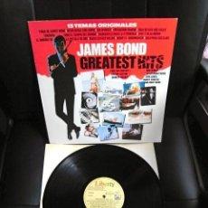 Discos de vinilo: JAMES BOND LP ESPAÑA GREATEST HITS CANCIONES PELICULAS MCCARTNEY NUEVO EXCELENTE. Lote 165595406