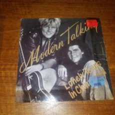 Discos de vinilo: MODERN TALKING SINGLE LONEY TEARS IN CHINATOWN. Lote 165607380