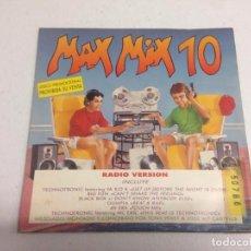 Disques de vinyle: VARIOUS – MAX MIX 10 . Lote 165613318