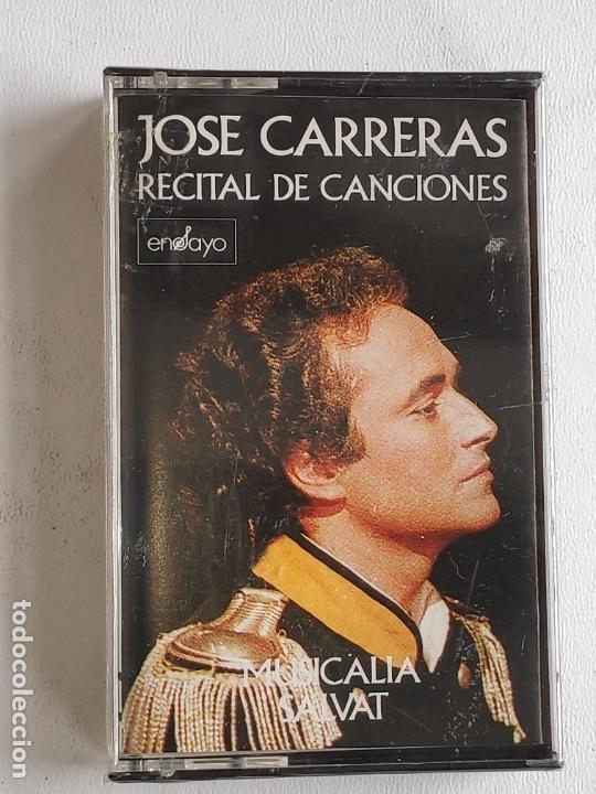 Discos de vinilo: TENOR JOSE CARRERAS RECITAL -BUENA INTERPRETACIÓN CANCIONES- NUEVO A DESPRECINTAR - Foto 5 - 165620814