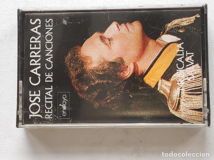 TENOR JOSE CARRERAS RECITAL -BUENA INTERPRETACIÓN CANCIONES- NUEVO A DESPRECINTAR (Música - Discos - Singles Vinilo - Grupos Españoles de los 90 a la actualidad)