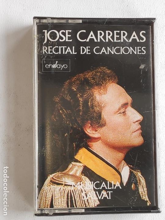 Discos de vinilo: TENOR JOSE CARRERAS RECITAL -BUENA INTERPRETACIÓN CANCIONES- NUEVO A DESPRECINTAR - Foto 3 - 165620814
