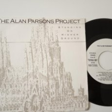 Discos de vinilo: THE ALAN PARSONS PROJECT- STANDING ON HIGHER GROUND - SPAIN PROMO SINGLE 1987-VINILO COMO NUEVO.. Lote 165627438