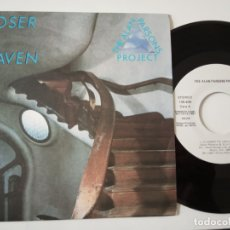 Discos de vinilo: THE ALAN PARSONS PROJECT- CLOSER TO HEAVEN - SPAIN PROMO SINGLE 1987 - COMO NUEVO.. Lote 165627810