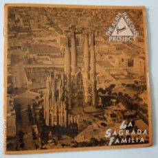 Discos de vinilo: THE ALAN PARSONS PROJECT- GAUDI - SPAIN PROMO SINGLE 1986 - VINILO COMO NUEVO.. Lote 165628850