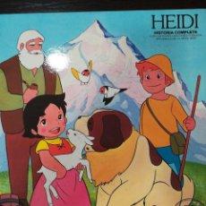 Discos de vinilo: HEIDI: HISTORIA COMPLETA. Lote 165636310