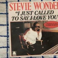 Discos de vinilo: STEVIE WONDER ?– I JUST CALLED TO SAY I LOVE YOU SELLO: MOTOWN ?– ZB 61451 FORMATO: VINYL, 7 . Lote 165638682