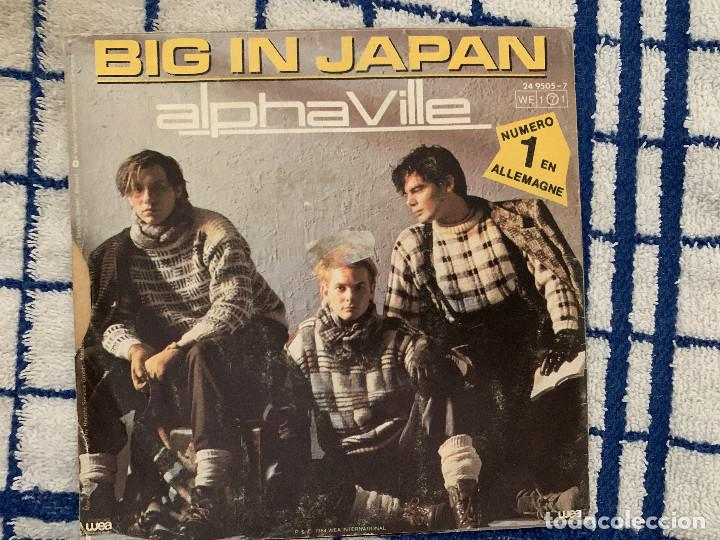ALPHAVILLE ?– BIG IN JAPAN SELLO: WEA ?– 24 9505-7 FORMATO: VINYL, 7 , SINGLE, 45 RPM PAÍS: FRANCE (Música - Discos de Vinilo - Singles - Pop - Rock Extranjero de los 80)