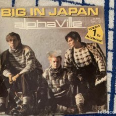 Discos de vinilo: ALPHAVILLE ?– BIG IN JAPAN SELLO: WEA ?– 24 9505-7 FORMATO: VINYL, 7 , SINGLE, 45 RPM PAÍS: FRANCE. Lote 165639042