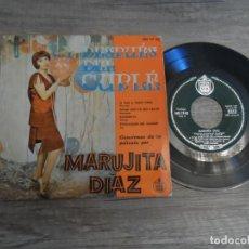 Discos de vinilo: MARUJITA DIAZ - ... Y DESPUES DEL CUPLE - SI VAS A PARIS PAPA + 3 - EP. Lote 165647998