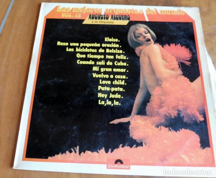 DISCO - LP - POLYDOR - AUGUSTO ALGUERO Y SU ORQUESTA (Música - Discos - LP Vinilo - Orquestas)