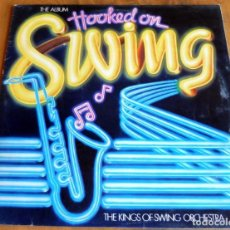 Discos de vinilo: DISCO - LP - EDIGSA K-TEL - THE ALBUM HOOKED ON SWING - THE KING OF SWING ORCHESTRA. Lote 165653750