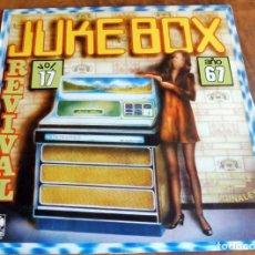 Discos de vinilo: DISCO - LP - K-TEL - JUKEBOX REVIVAL - ARTISTAS ORIGINALES. Lote 165654022