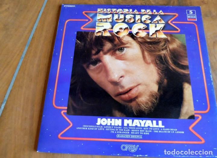 DISCO - LP - DECCA - HISTORIA DE LA MUSICA ROCK Nº 5 - JOHN MAYALL (Música - Discos - LP Vinilo - Pop - Rock - Extranjero de los 70)