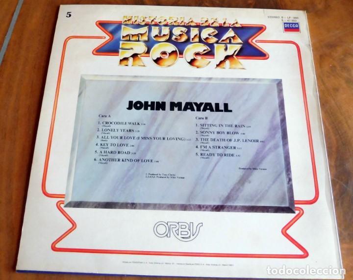 Discos de vinilo: DISCO - LP - DECCA - HISTORIA DE LA MUSICA ROCK Nº 5 - JOHN MAYALL - Foto 2 - 165658278