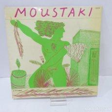Discos de vinilo: DISCO VINILO LP MOUSTAKI. Lote 165670538