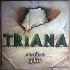 Discos de vinilo: TRIANA. SOMBRA Y LUZ. MOVIEPLAY-GONG, SPAIN 1979 LP + DOBLE CUBIERTA. Lote 165714862