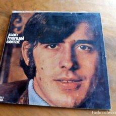 Discos de vinilo: DISCO - LP - EDIGSA - JOAN MANUEL SERRAT -- COM HO FA EL VENT. Lote 165715838