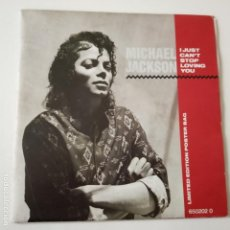 Discos de vinilo: MICHAEL JACKSON- I JUST CAN´T STOP LOVING YOU + POSTER BAG LIMITED EDITION- HOLLAND SINGLE 1987.. Lote 165722530