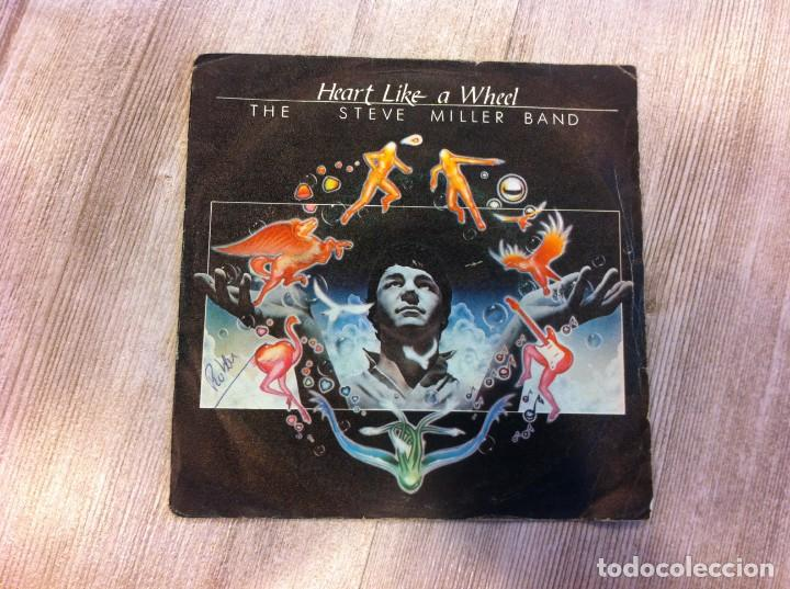 SINGLE. THE STEVE MILLER BAND. HEART LIKE A WHEEL. THRESHOLD. 1981 (Música - Discos - Singles Vinilo - Otros estilos)