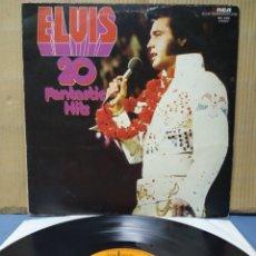 Discos de vinilo: ELVIS PRESLEY - 20 FANTASTIC HITS 1975 GER. Lote 165727100