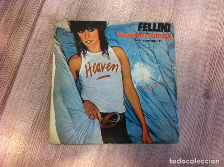 SINGLE. SUZANNE FELLINI. PERMANENT DAMAGE. BAD BOY. 1980 (Música - Discos - Singles Vinilo - Otros estilos)
