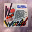 Discos de vinilo: SINGLE. QUINCY JONES. GRACE. WE ARE THE WORLD. 1985. USA FOR AFRICA. Lote 165735358