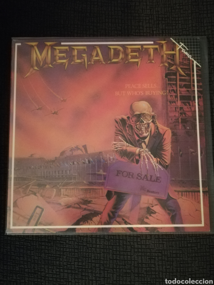 VINILO MEGADETH PEACE SELLS BUT WHO'S BUYING (Música - Discos - LP Vinilo - Heavy - Metal)