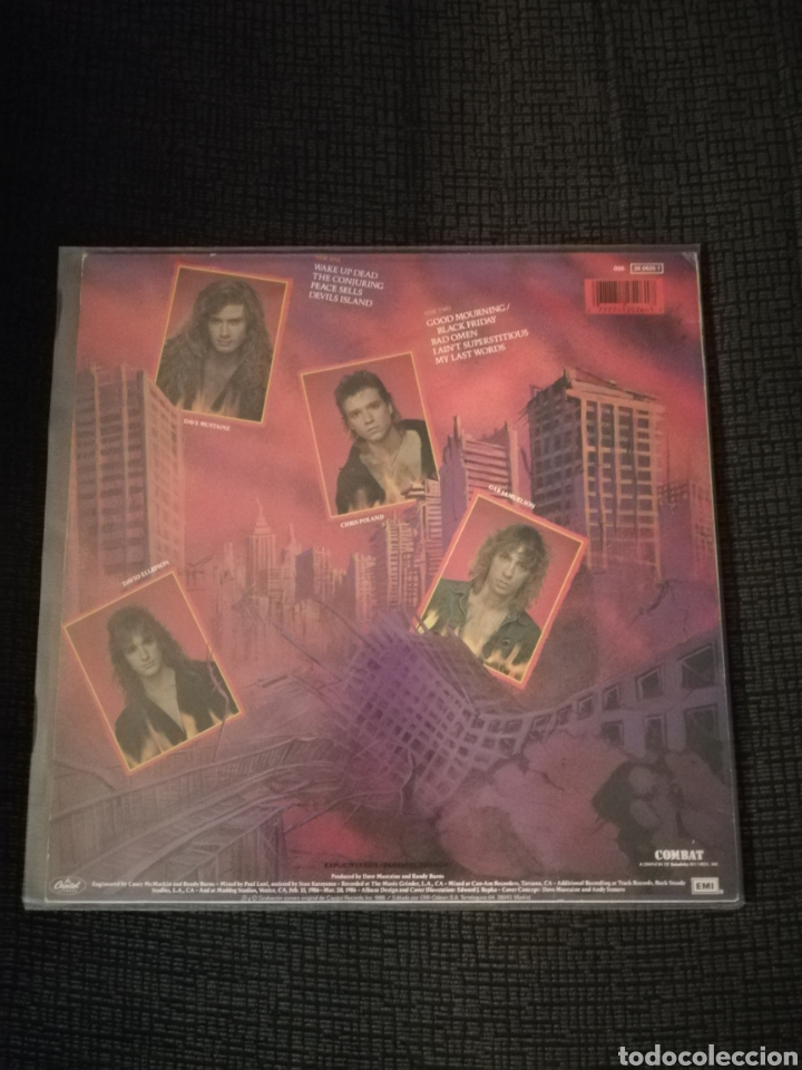 Discos de vinilo: Vinilo Megadeth Peace sells but who's buying - Foto 2 - 165735689