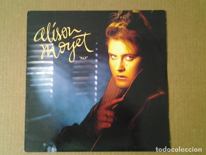 ALISON MOYET -ALF- LP CBS 1984 ED. INGLESA CBS 26229 MUY BUENAS CONDICIONES. (Música - Discos de Vinilo - Maxi Singles - Jazz, Jazz-Rock, Blues y R&B)