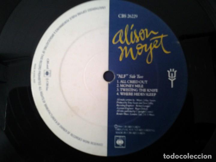 Discos de vinilo: ALISON MOYET -ALF- LP CBS 1984 ED. INGLESA CBS 26229 MUY BUENAS CONDICIONES. - Foto 4 - 165737606