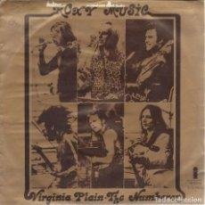 Discos de vinilo: ROXY MUSIC, VIRGINIA PLAIN. (ISLAND,1972). Lote 165738274
