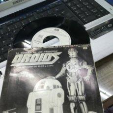 Discos de vinilo: EWOKS / DROIDS SINGLE PROMOCIONAL B.S.O. ESPAÑA, 1986. Lote 165738750