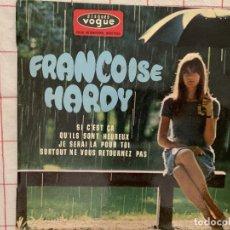 Discos de vinilo: FRANÇOISE HARDY ?– SI C'EST ÇA SELLO: DISQUES VOGUE ?– EPL 8511, DISQUES VOGUE ?– EPL. 8511 . Lote 165743798