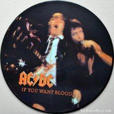 Disques de vinyle: AC/DC – IF YOU WANT BLOOD... ...YOU'VE GOT IT -LP PICTURE-. Lote 272198293