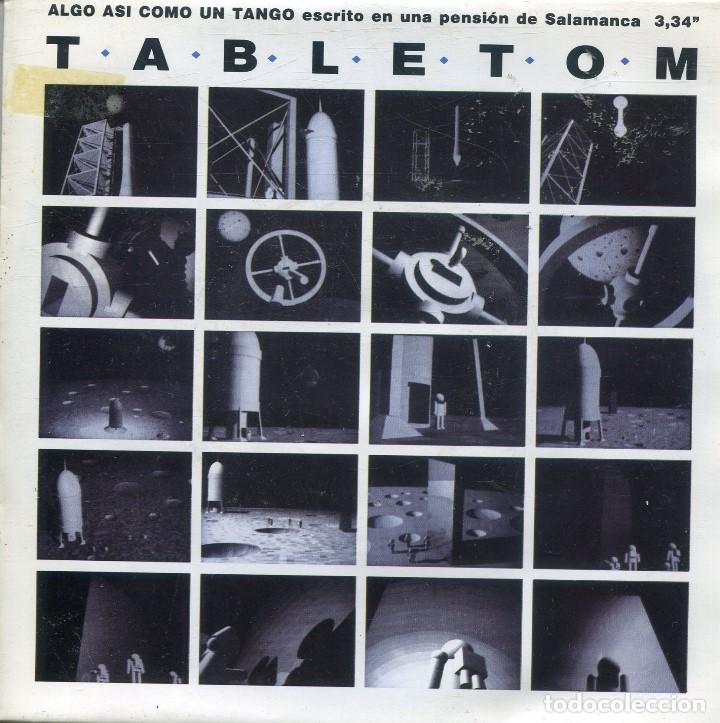TABLETOM / ALGO ASI COMO UN TANGO (SINGLE PROMO 1992) CARA B IGUAL (Música - Discos - Singles Vinilo - Grupos Españoles de los 90 a la actualidad)