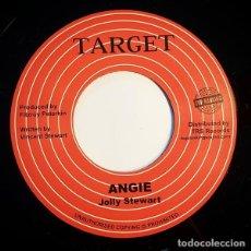 Discos de vinilo: JOLLY STEWART - ANGIE - 7'' [TOP RANKING SOUND, 2017]. Lote 165761270