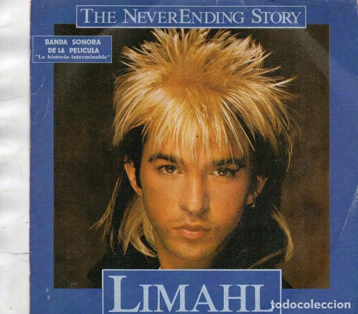 SINGLE 1984 -LIMAHL - B.S.O. PELÍCULA LA HISTORIA INTERMINABLE (Música - Discos - Singles Vinilo - Otros estilos)