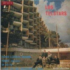Discos de vinilo: LOS TELSTARS / CUANDO LLEGUE EL INVIERNO + 3 (EP 1965). Lote 165766778