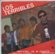 Discos de vinilo: LOS TERRIBLES / ROCK 'N' EN MI CASSETTE / SOLO EN LA CIUDAD (SINGLE 1983). Lote 165767386