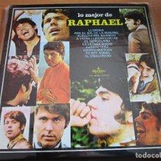 Discos de vinilo: LO MEJOR DE RAPHAEL ( USA ) LLORONA / YO SOY AQUEL / EL CHACARERO / CABARETERA / EL GONDOLERO / . Lote 165771082