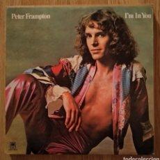 Discos de vinilo: DISCO VINILO PETER FRAMPTON. I´M IN YOU. Lote 165773662