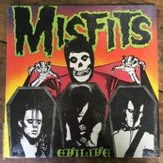 Discos de vinilo: DISCO DE VINILO, LP DE MISFITS EVILIVE PL9-08 1987. Lote 165780642