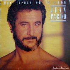 Discos de vinilo: JUAN PARDO - QUE TIENES EN LA CAMA. Lote 165795682