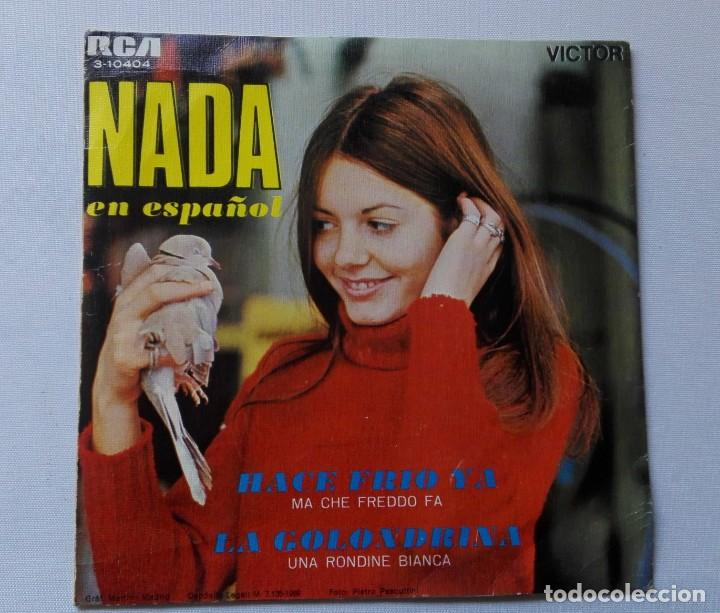 Discos de vinilo: DISCO DE NADA (EN ESPAÑOL)HACE FRÍO YA -AÑO 1969 .DE VENTA EN UN LOTE.SOLO PARA VER FOTOS DEL DISCO - Foto 2 - 165796494
